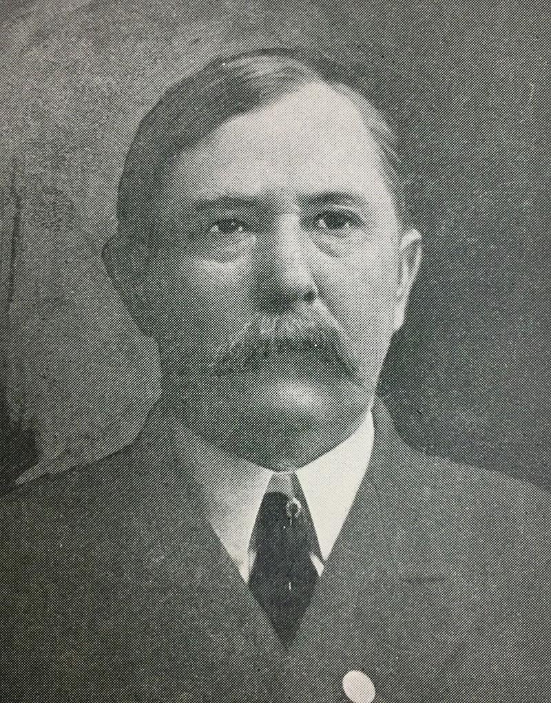 """Captain Samuel """"Burk"""" Burnett"""