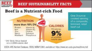 Beef is Nutrient-rich Food